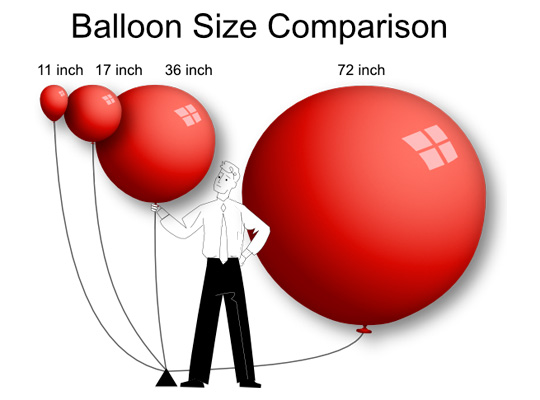 balloons-size